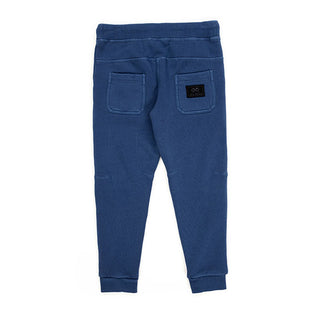 Alphabet Soup Midnight Trackpant Navy back