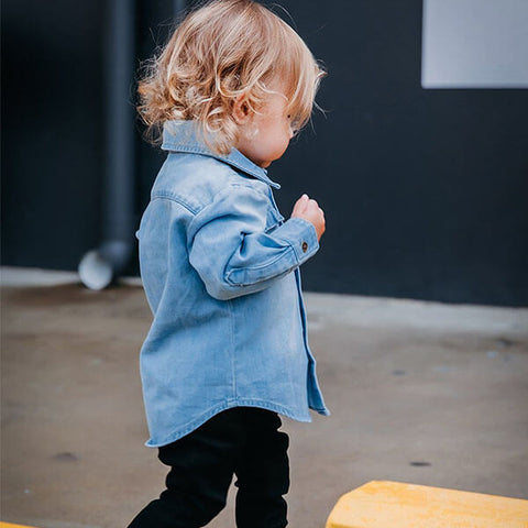 Beau Hudson Blue Denim Shirt