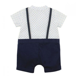 Bebe Harry Romper with Braces back view