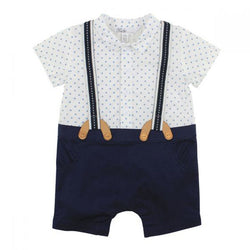 Bebe Harry Romper with Braces