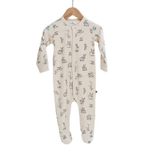Burrow & Be Essentials Sleepsuit Almond Burrowers