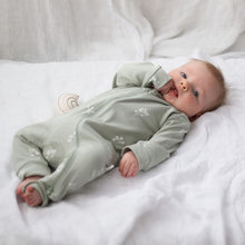 baby boy Burrow & Be Zipsuit (Sprig)
