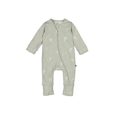 Burrow & Be Zipsuit (Sprig)