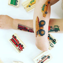 Ducky Street Traffic temporary Tattoos