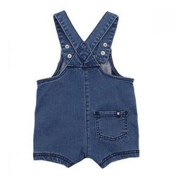 Fox & Finch Denim Overalls back