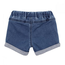 Fox & Finch Denim Shorts back view