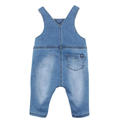 Fox & Finch Watch Dog Denim Overalls back