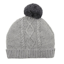 Fox & Finch Grey Cable Beanie