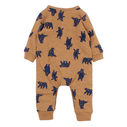 Fox & Finch The Woods Henley Romper back view
