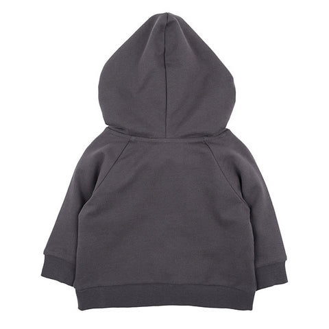 back view Fox & Finch Watch Dog Hooded Top