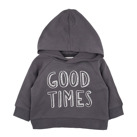 Fox & Finch Watch Dog Hooded Top