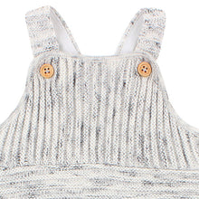 Fox & Finch The Woods Knit Overalls closeup