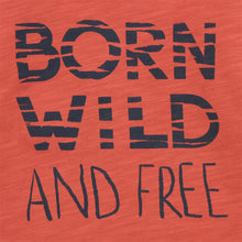 Fox & Finch Le Tiger Born Wild Tee closeup print