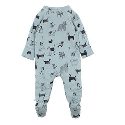 Fox & Finch Watch Dog Zip Romper back