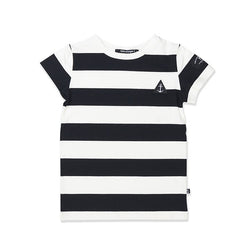 Hello Stranger Core Stripe Tee