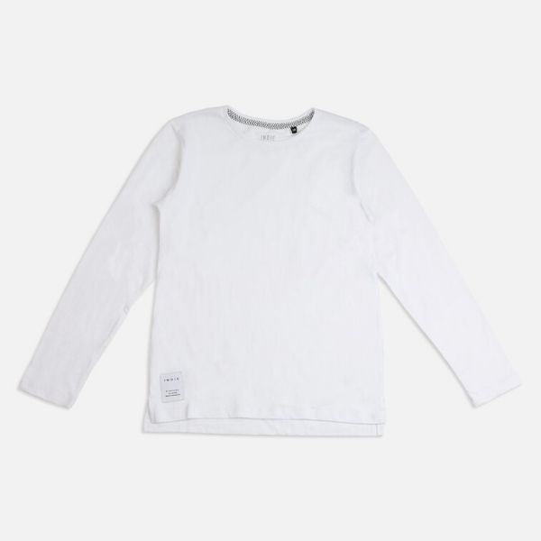 Indie Kids Core LS Tee - White