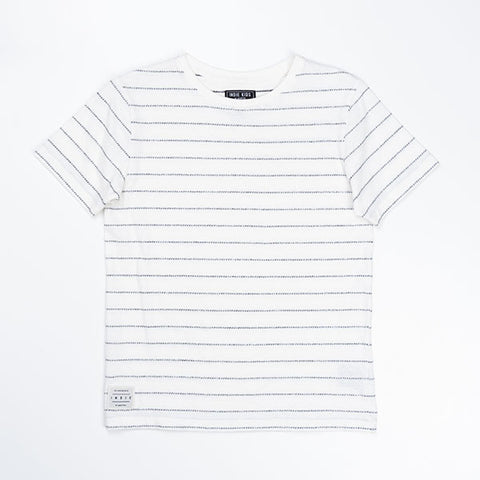 Indie Kids Reverse Jacquard Stripe Tee - Little Gents Store