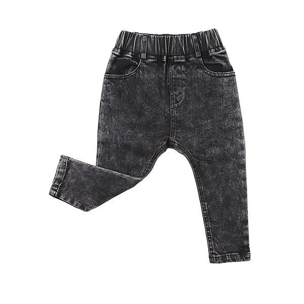 Kapow Kids Stretch Denim Jeggings - Black - Little Gents Store