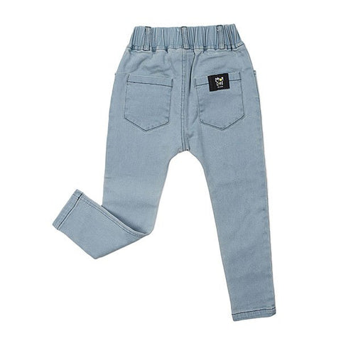 Kapow Kids Stretch Denim Jeggings - Blue - Little Gents Store