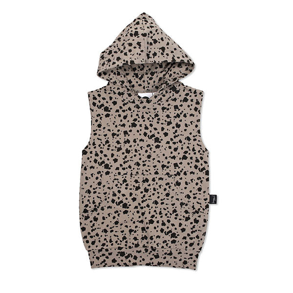 Kapow Kids Terrazzo Hooded Sleeveless Vest - Little Gents Store