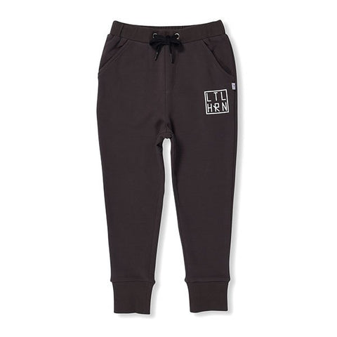 Littlehorn Branded Cuff Trackpants - Little Gents Store