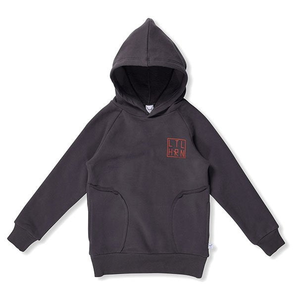 Littlehorn Branded Hood - Little Gents Store