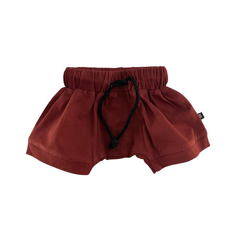 Milk Addict Relaxed Shorts - Rust