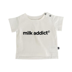 Milk Addict Logo tee Shirt
