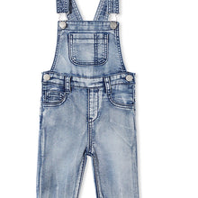 close up of Milky Clothing Denim Overalls