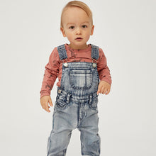 boy wearing Milky Clothing Denim Overalls
