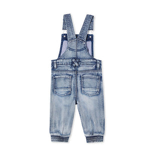 back view Milky Clothing Denim Overalls