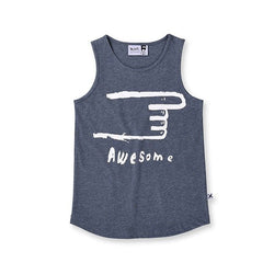 Minti Awesome Singlet - Little Gents Store