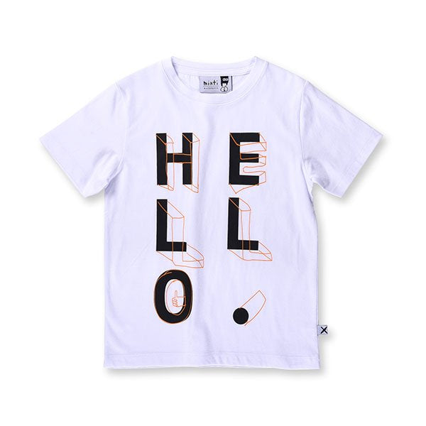 Minti Hello Shapes Tee - Little Gents Store