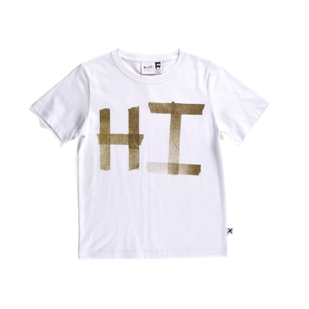 Minti Hi Taped Tee - Little Gents Store