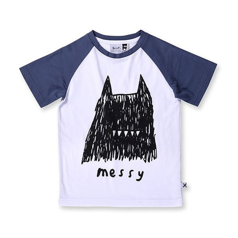 Minti Messy Raglan Tee - Little Gents Store
