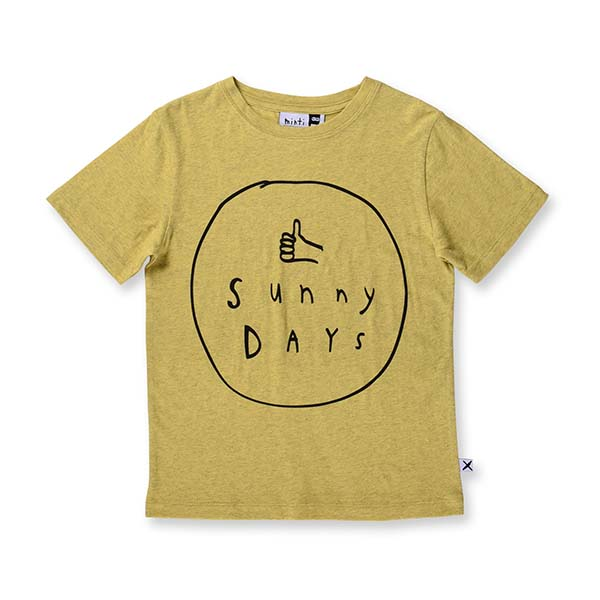 Minti Sunny Day Tee - Little Gents Store