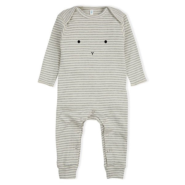 Organic Zoo Grey Stripes Bunny - Little Gents Store