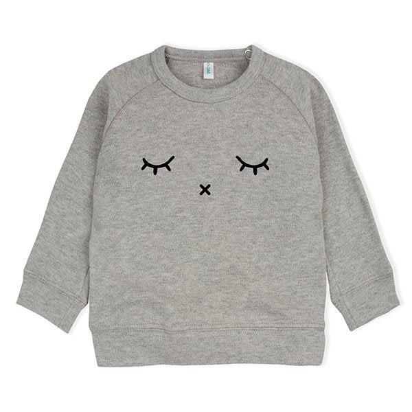 Organic Zoo Grey Sleepy Sweatshirt - Little Gents Store