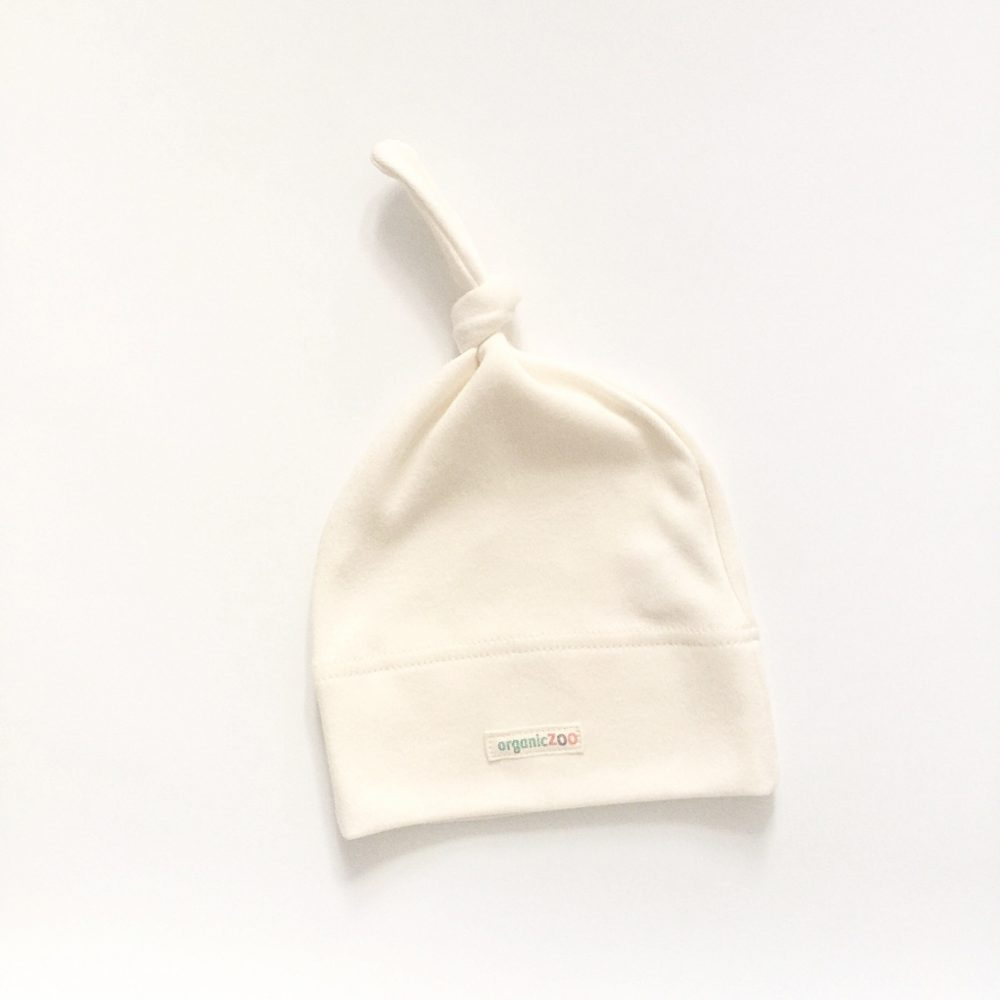 Organic Zoo Natural knotted hat - Little Gents Store