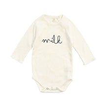 Organic Zoo Natural MILK Bodysuit - Little Gents Store