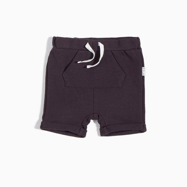 Miles Baby Grey Shorts - Little Gents Store