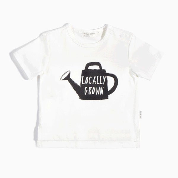Miles Baby Locally Grown Tee - Little Gents Store