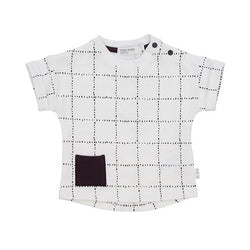 Miles Baby Squares Tee - Little Gents Store