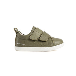 Pretty Brave First Walker Brooklyn (Khaki) side view