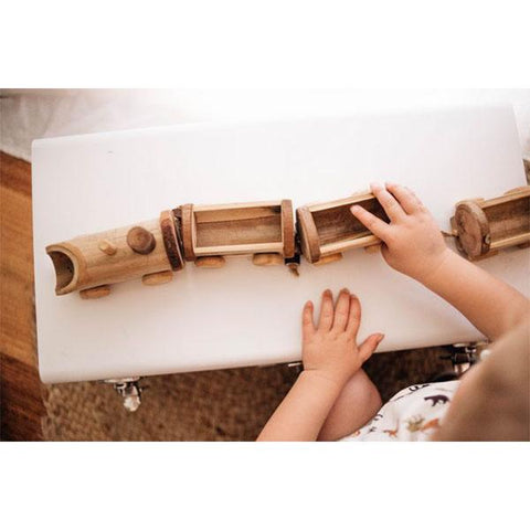 QToys Bamboo Train