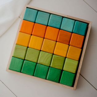 QToys My First Coloured Blocks