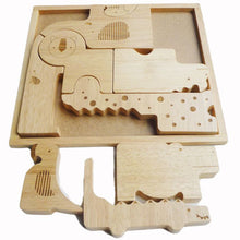 QToys Natural Animal Puzzle