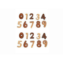 QToys 2 Tone Number Set wooden toy