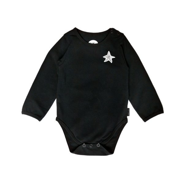 Sproet & Sprout - Black Romper - Little Gents Store