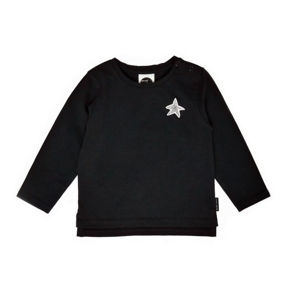 Sproet & Sprout - Black Basic Tee - Little Gents Store